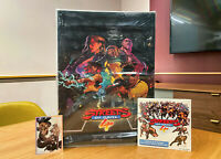Limited Run Streets of Rage 4 PS4 PlayStation 4 - Limited Collector's Edition