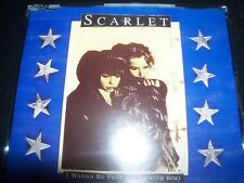 Scarlet ‎– I Wanna Be Free (To Be With Him) CD Single – Like New