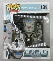 """Funko Pop! Games 6"""" Atlas and Pilot #131 from TITANFALL 2 N05"""