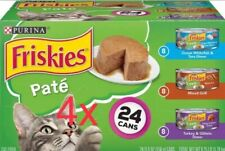 Friskies Classic Pate Variety Pack Canned Cat Food, 5.5-oz, (4 cases of 24)