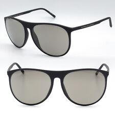 Porsche Design new sunglasses for men black frame / gray lens P8596 B 58 mm