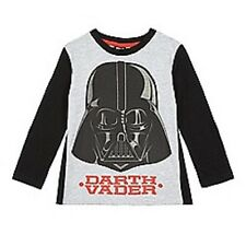 garçons Star Wars T Shirt enfants enfants 3-4 ans détachable CAPE DARTH VADER