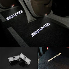 2x LED AMG Logo door welcome Projector light Kit For Mercedes-Benz CLS CLA C207