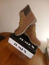 New|| Jumex Men Shoes High COLOR  BROWN LACE SIZE  41            il