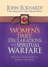 WOMEN'S DAILY DECLARATIONS FOR SPIRITUAL WARFARE - ECKHARDT, JOHN - NEW HARDCOVE