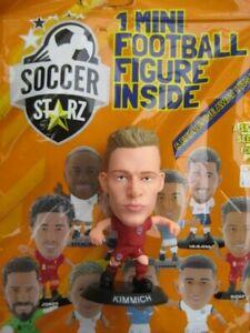 Joshua Kimmich Bayern Munich SoccerStarZ 2022 Black Base Foil Bag MicroStars