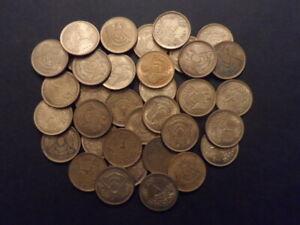Egypt 1980 - 2 piasters x 35 pieces Aluminum-Bronze