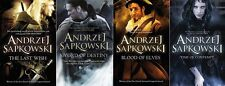 The Last Wish, Sword of Destiny, Blood of Elves & Time of Contempt (Witcher)