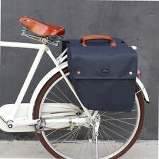 Tourbon Bike Double Panniers Trunk Rear Case Cycling Bag Roll-up Seat Waterproof