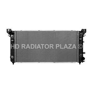 Radiator For 15 Escalade 14-16 Silverado Suburban Tahoe Sierra Yukon w/o TRL PKG