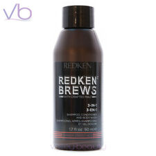 REDKEN Brews For Men 3-in-1, Shampoo, Conditioner, Body Wash, All in one