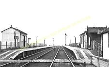Sealand Railway Station Photo. Saughall - Burton Point. Chester to Neston. (1)