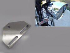 MOTORCYCLE Bottom Mount HEADLIGHT Bracket Adapter For Harley Cruiser Chopper XL