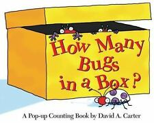 How Many Bugs in a Box?: A Pop-up Counting Book David Carter's Bugs