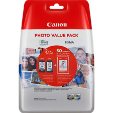 Cartucce Value Pack CANON 545XL + 546XL + 50 fogli carta fotografica per TS3150