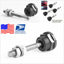 22mm Push Button Bonnet Hood Pin Lock Clip Kit Car Quick Release Bumper Latch 4x