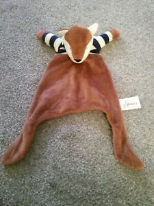 Joules Reynard The Fox Comforter Baby Comfort Blanket Soother Soft Toy Blankie