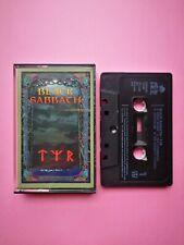 Black Sabbath - TYR - 1990 - IRS Records - Heavy Metal - Black Cassette Tape