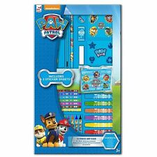 Paw Patrol 52 Pcs Art Set Children's Colouring Painting Drawing Carry Case