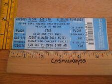 STS9 2009 Sound Tribe Sector Nine Konzert Ticket Original