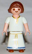 Playmobil 6493 Roman Family Girl Child brown hair long white dress
