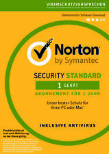 Norton Security Standard - 2019 / 2020 - 1 Gerät / PC - 1 Jahr - DE - Key