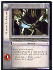 Lord Of The Rings CCG Card TTT 4.R111 Boromir, My Brother