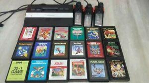 Atari 2600 + OVP + 3 JOYSTICK + 49 SPIELE