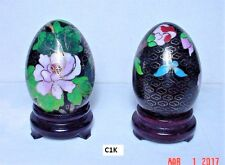 Special! Vintage Cloisonne Egg w/stand, 3/$10 your choice, Hand-made Collectible