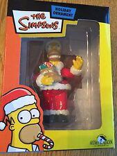 The Simpsons Christmas Ornament Homer Santa   RARE!!