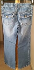Crazy 8 Girls Blue Denim Bootcut Jeans Pants Size 6