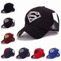 UK Men Unisex Snapback Adjustable Fit Baseball Cap Superman Hip-hop Stretch Hat