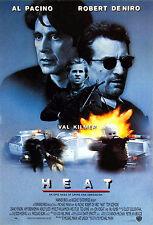 HEAT (1995) ORIGINAL INTERNATIONAL MOVIE POSTER  -  ROLLED