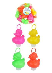 Assorted Hook a Duck Hard Plastic Toy Fishing Bath Time Fairground Floating Game