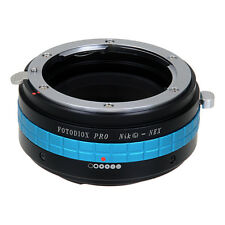 Fotodiox Pro Lens Adapter Nikon Nikkor F-Mount G-Type Lens to Sony E-Mount/NEX