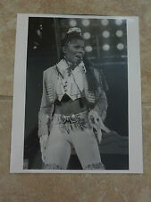 Janet Jackson Live 90's 8x10 B&W Publicity Picture Promo Photo