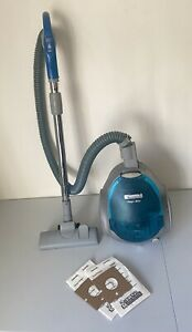 KENMORE Magic Blue Canister Vacuum Cleaner Model 721 and 2 New Bags TESTED