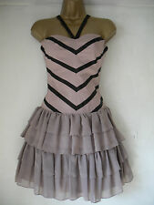 LIPSY DUSKY PINK COCKTAIL / PARTY DRESS SIZE 8 - BNWOT RRP £65