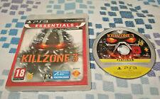 KILLZONE 3 PLAYSTATION 3 PS3 PLAY 3 JUEGO VIDEOJUEGOS DE GUERRA TIROS DISPAROS