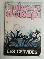 N13 Rivista Universo Okapi N° 73 I Cervi, Cervo, Cervo Ecc.