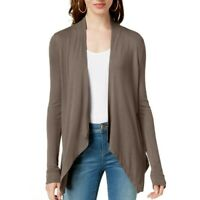 INC Women's Long-sleeve Open-front Cardigan Casual Shirt Top TEDO