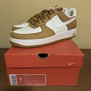 """Nike Air Force 1 Low """"Barcode Wheat"""" #1998/4008 - Size: US 10 - 306353 911"""