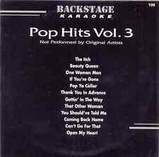 Pop Hits Vol. 3 Karaoke Backstage Vol. 108 CD+G New and Sealed