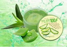 6x50ml ALOE VERA 100% NATURE PERFECT Soothing Gel Paraben Free Moisturizer Skin