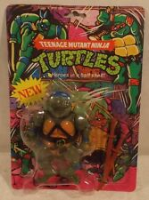 Teenage Mutant Ninja Turtles TMNT 1988 - Leonardo Leo Knockoff 4 Back (MOC)