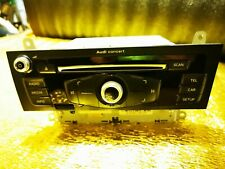 2012 AUDI A4 B8 CD PLAYER STEREO HEAD UNIT CONCERT 8R2035186A