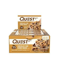 Quest Bars Protein Bars, 12 ct - 2.1 oz, Chocolate Chip Cookie Dough