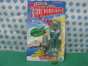 Vintage Matchbox Tracy Island - Scott Tracy (Pilot With Thunder-Stun)