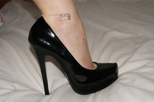 Premium 'XXX' Anklet Ankle Chain Jewellery X Rated Slut Pornstar Exhibitionist