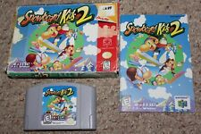 Snowboard Kids 2 (Nintendo 64 n64) Complete in Box FAIR
